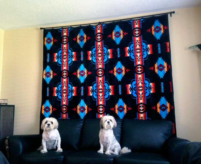 navajo blanket dogs pets home